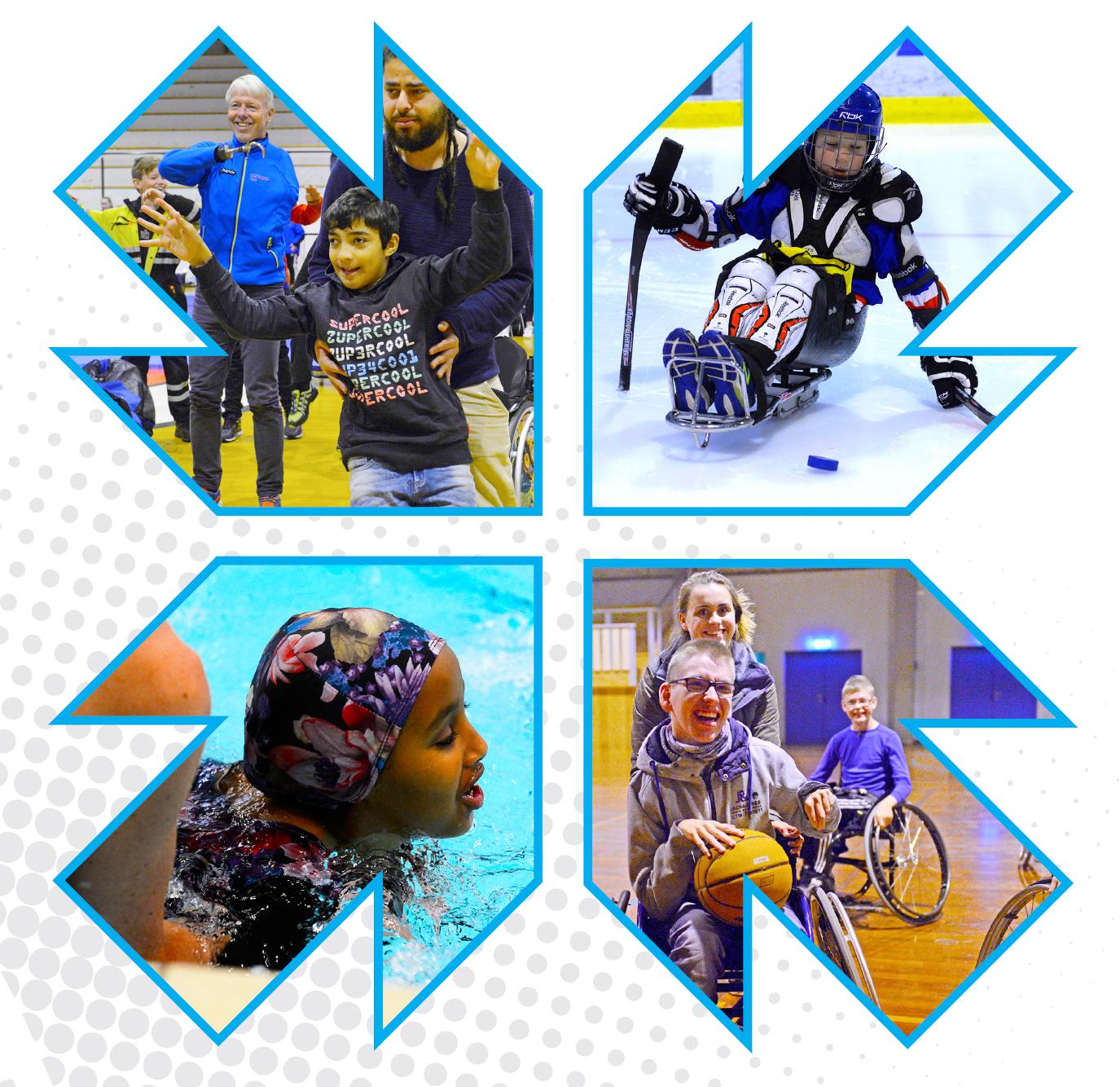 Husk å registrere aktive medlemmer med funksjonsnedsettelser