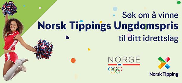 Søk om å vinne Norsk Tippings Ungdomspris