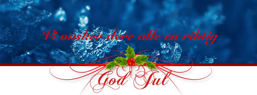 Riktig god jul!